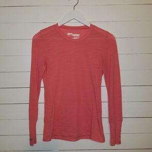 Coral Grey's Anatomy long-sleeved shirt
